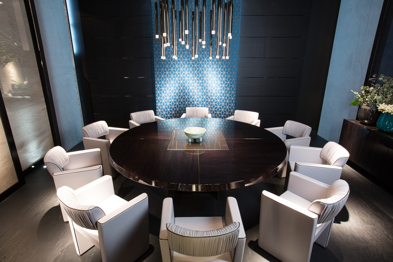 Black and More Conference Table