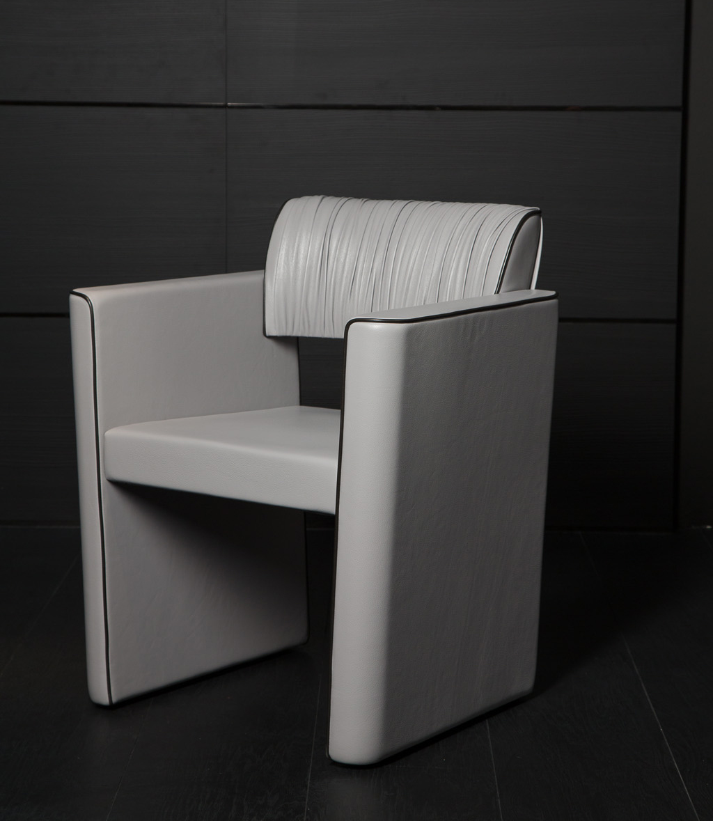 Black and More Arm Occasional Chair