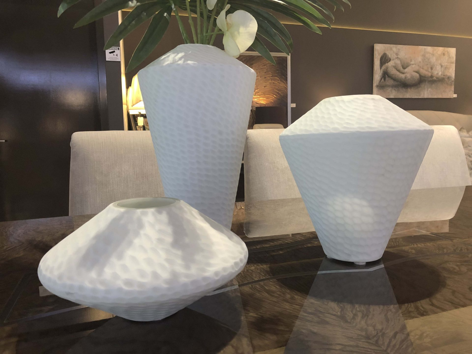 Buttermilk Vases Set