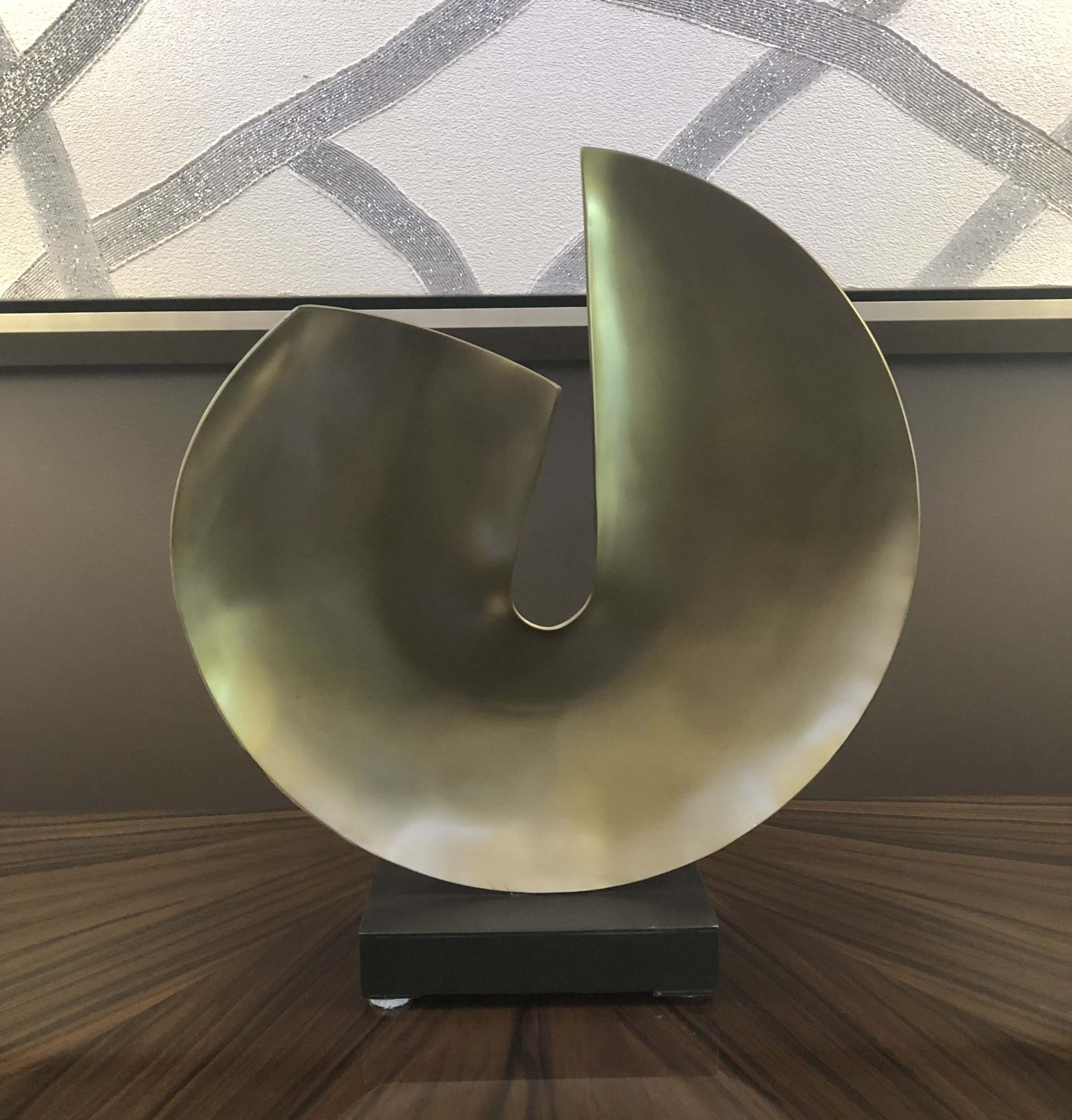 Antique Brass Disk