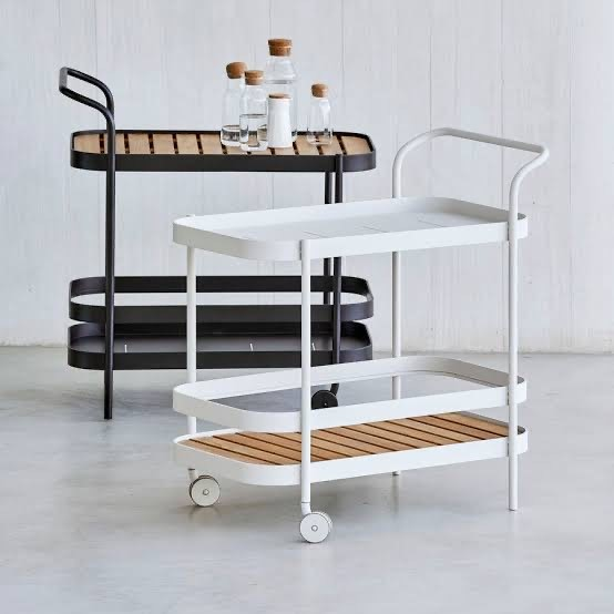Rally Rectangular Bar Cart