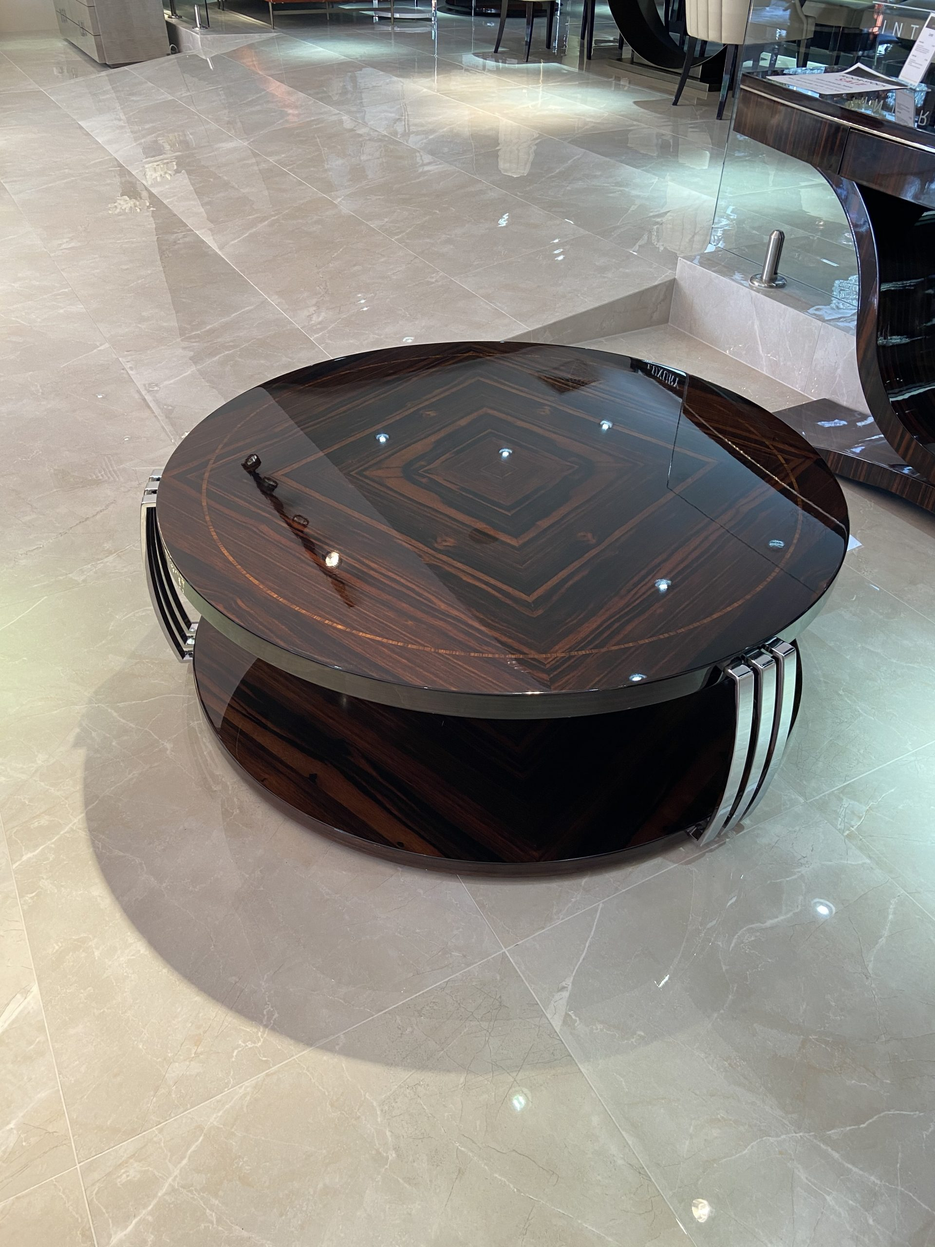 Luna Round Coffee Table