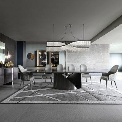 Mirage Rectangular Dining Table