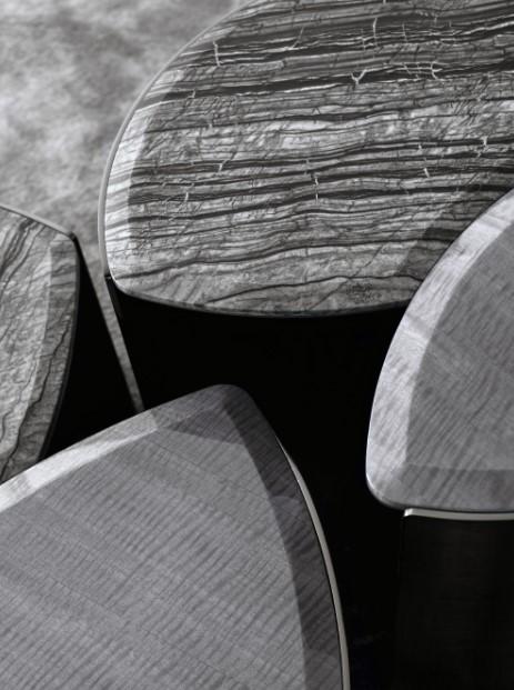 Mirage Geometric Side Table