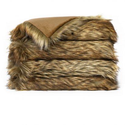 Faux Fur Throw – WOLF