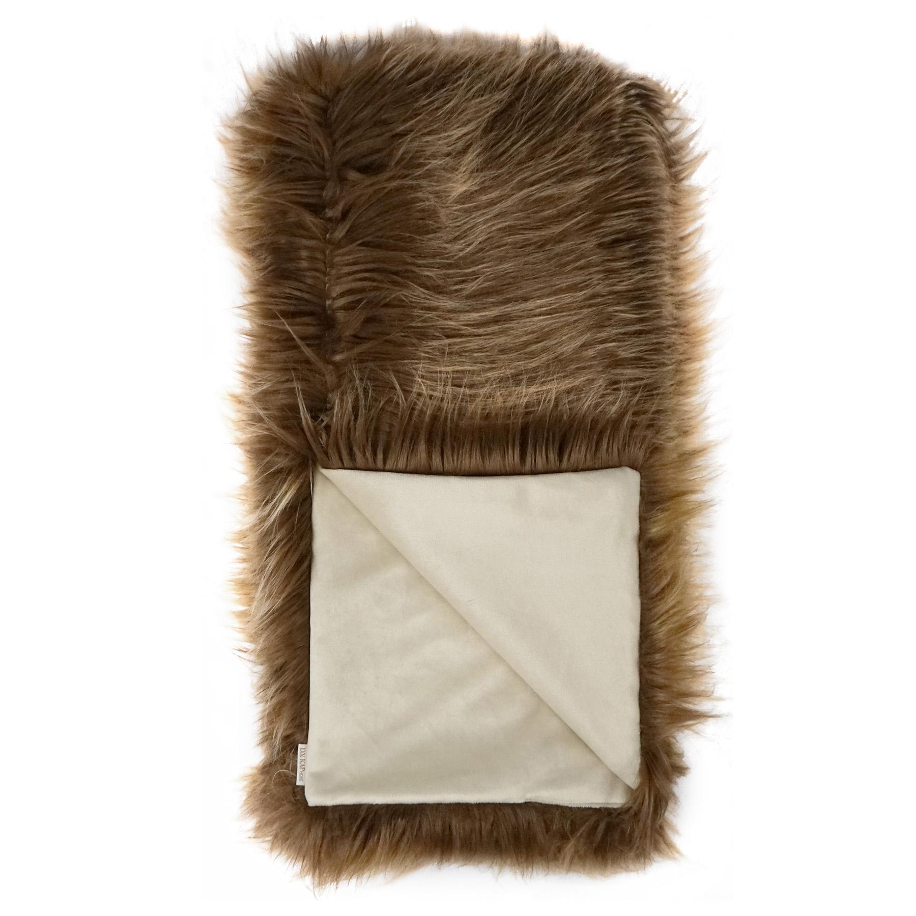 Faux Fur Throw – YAK