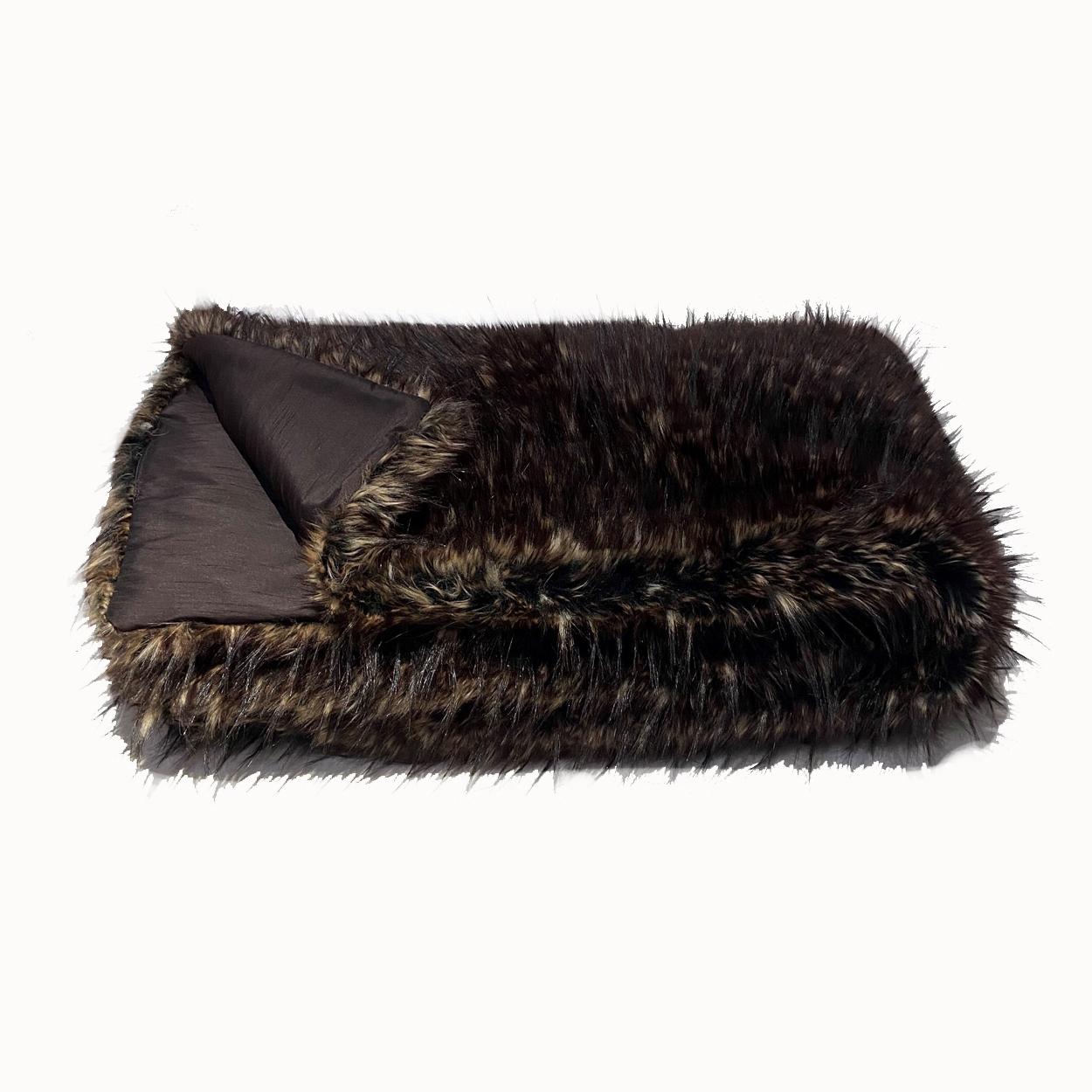 Faux Fur Throw – BEAR