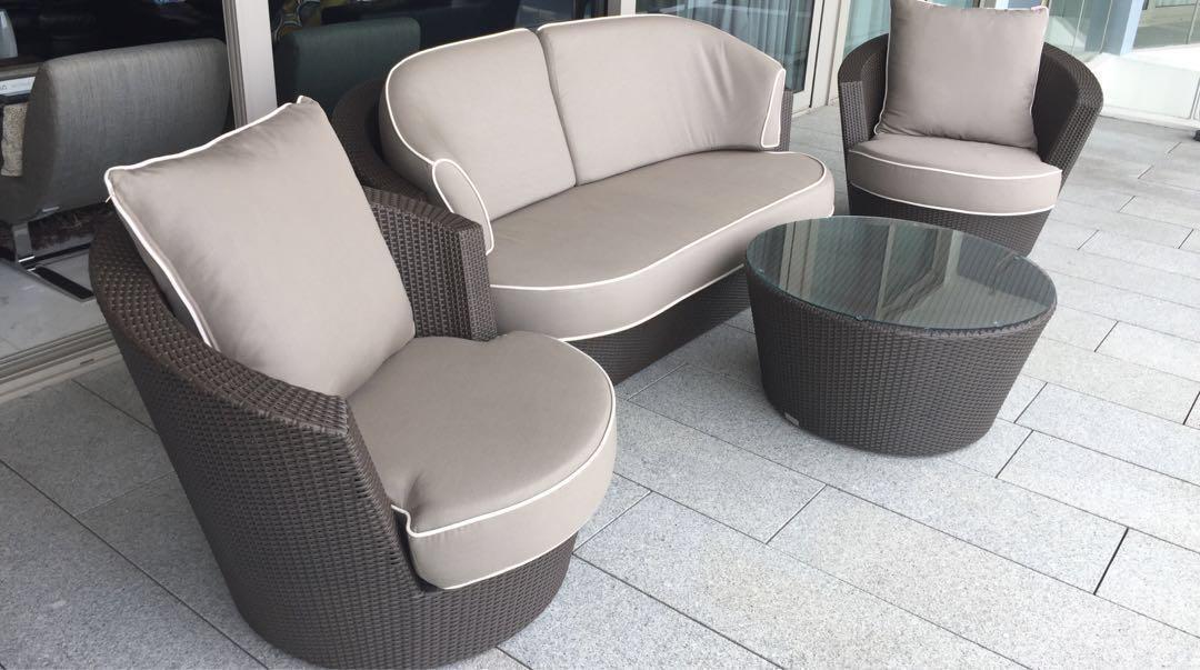 Outdoor – Eden Roc White Lounge Suite