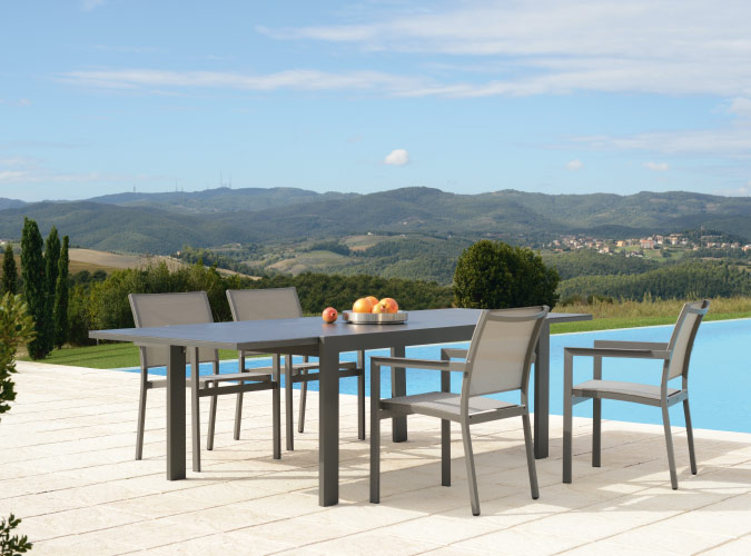 Outdoor – Beach Slim 10 Seat Dining Suite