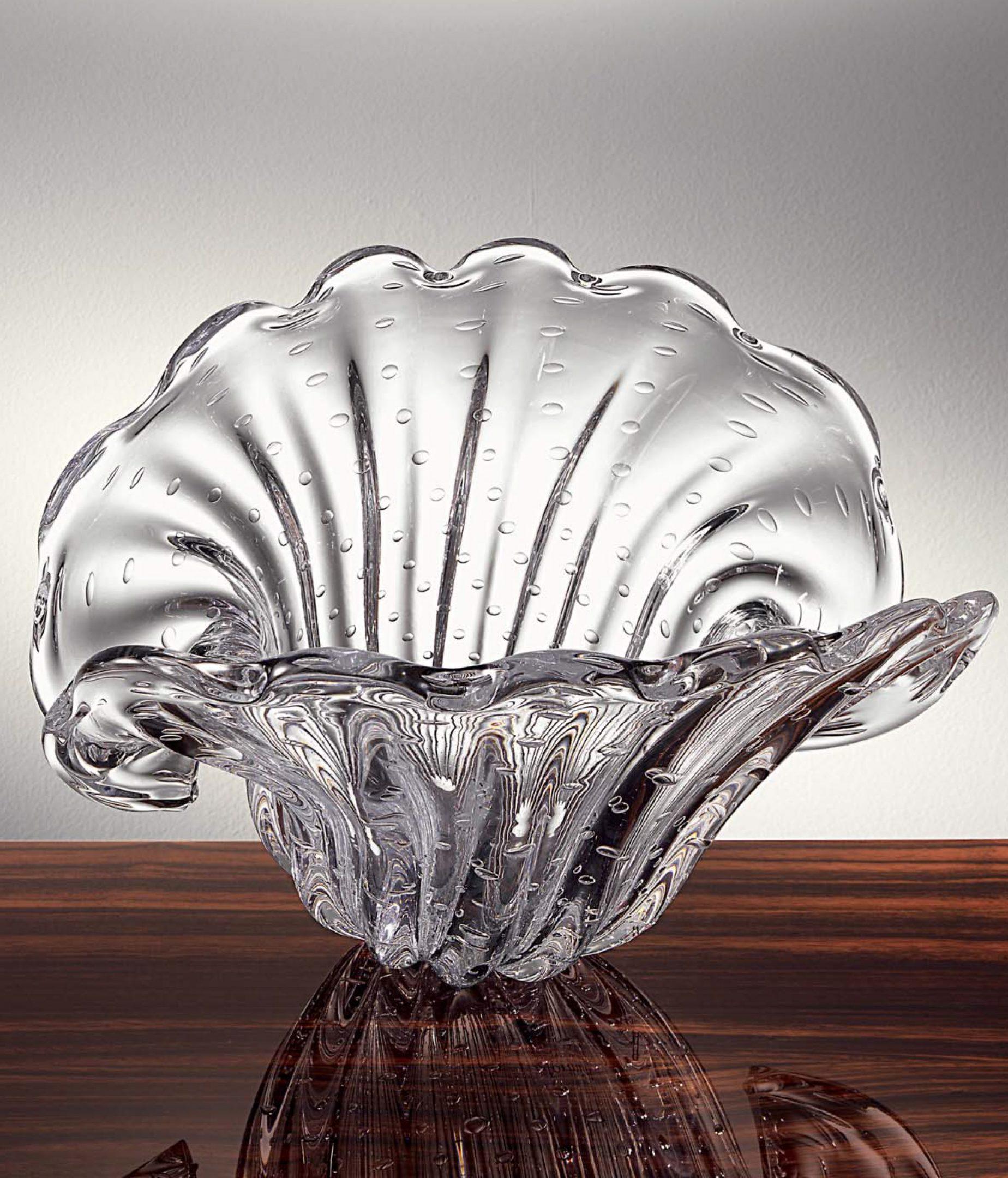 Shell Murano Vase