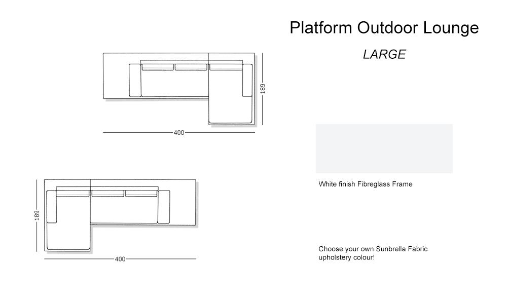Outdoor – Platform large Lounge