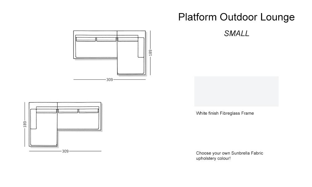 Outdoor – Platform small Lounge