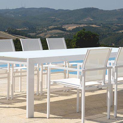 Outdoor – Beach Slim 8 Seat Dining Suite