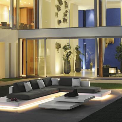 Outdoor – Platform extra large Lounge