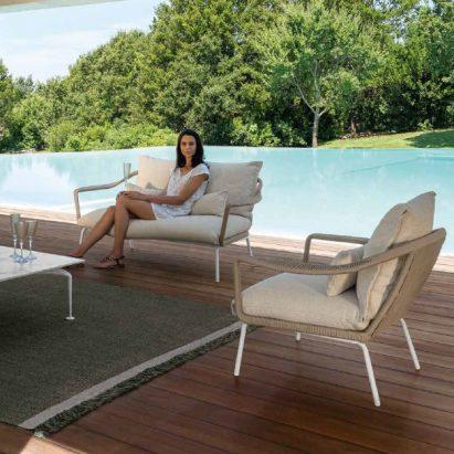 Cruise Aluminium Living Armchair