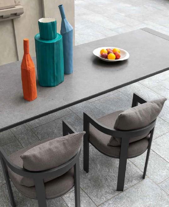Argo Aluminium Dining Chair