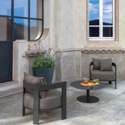 Argo Aluminium Living Armchair