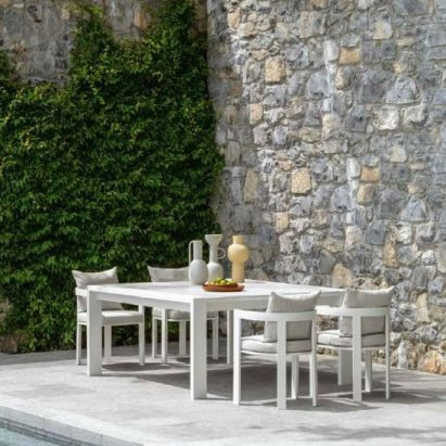 Argo Aluminium Dining Table